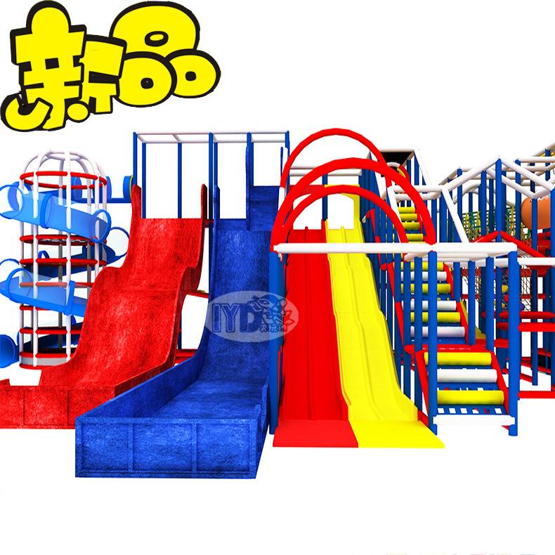 儿童弹性迷宫乐园淘气堡